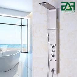 FLG <font><b>Shower</b></font> faucet Brushed Nickel Wall Mo