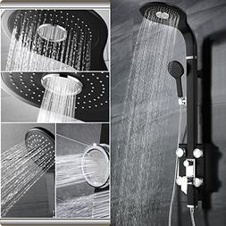 "SR SUN RISE 49.66"" Four Function Shower Panel System with Ra"