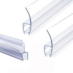 Frameless Shower Door Seal Strip, Weather Stripping Seal Swe