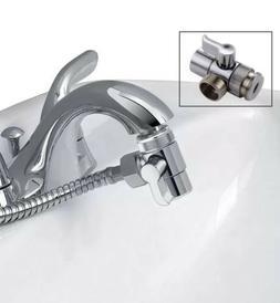 G1/2'' Brass Bidet Shower Head Diverter Valve Faucet Tap T-A
