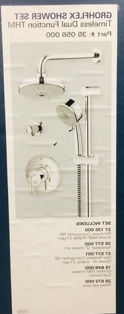 Luxurious Grohflex Shower Set