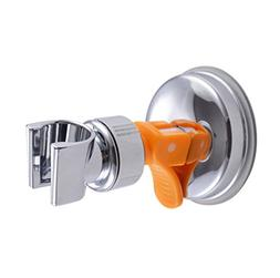Hand-Held Shower Head Bracket Holder W/ Reusable Suction Cup