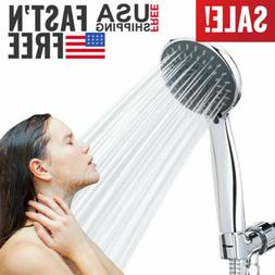Handheld Shower Head High Pressure 5 Function Massage Spa De