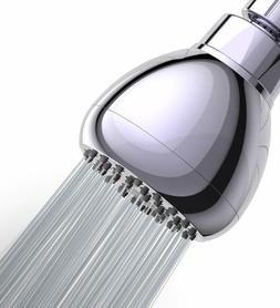 WASSA High Pressure Shower Head - 3″ Anti-clog Anti-leak F