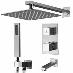 Himk Shower System,Shower Faucet Set With Tub Spout For Bath