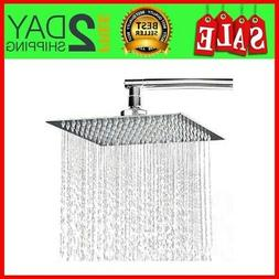 hotelspa 8 inch stainless steel square rainfall