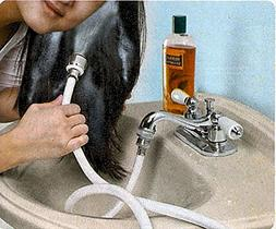 Sink Hoses 5ft. Indoor Turn Your Sink Into A Handy Shower!,W