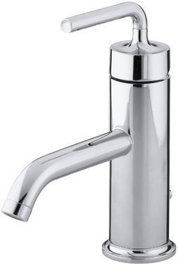 KOHLER K-14402-4A-CP Purist Single Control Lavatory Faucet w