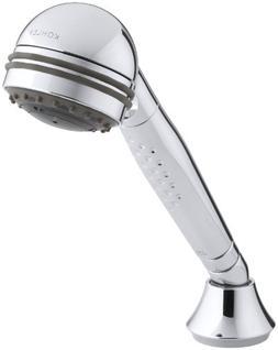 KOHLER K-8501-CP Master Shower 3-Way Invigorating Handshower