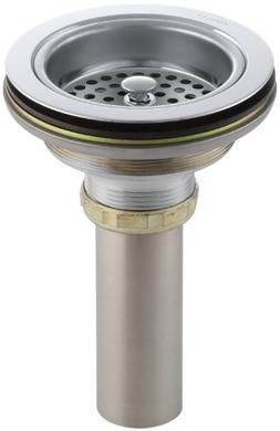 Kohler K-8801-CP Dutmostrainer Sink Strainer, Polished Chrom
