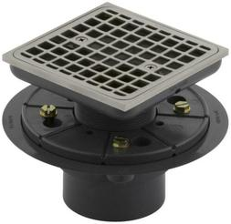 Kohler K-9136-BN Square Design Tile-In Shower Drain Finish: