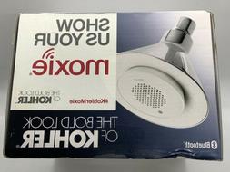 KOHLER K-9245-CP 2.5 GPM Moxie Showerhead and Wireless Speak