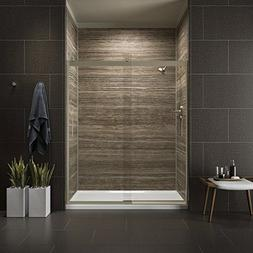 "KOHLER K-706009-L-ABV LEVITY 60"" 1/4"" SHOWER DOOR WITH HANDL"