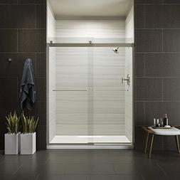 KOHLER K-706015-L-MX Levity Bypass Shower Door with Towel Ba