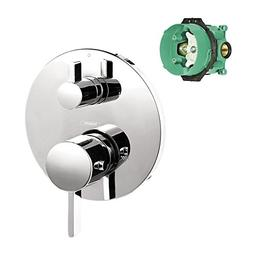 Hansgrohe K04230-01850CR S Thermostatic Trim with Volume Con