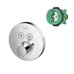 Hansgrohe K15743-01850CR-2 ShowerSelect E Thermostatic Round