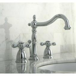 Kingston Brass KB1971AX Heritage Widespread Lavatory Faucet,