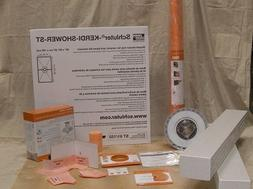 Schluter Kerdi 32-Inch X 60-Inch Shower Kit with Center Stai