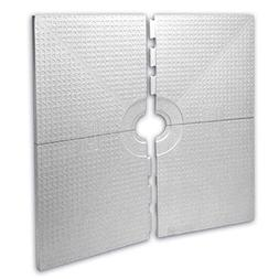 "KERDI-SHOWER-ST - 48"" x 48"" - Shower Tray - Center Drain Pla"