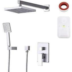 KES Shower Bathtub & Systems System Bathroom Single Handle F