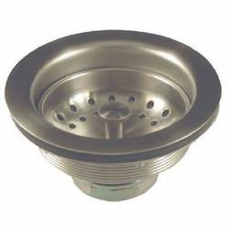 kitchen sink metal basket strainer