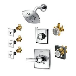 Delta KS14264LH-R-RB Ashlyn Monitor Shower Kit, Less Showerh