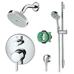 Hansgrohe KSH04447-04342-66PC Raindance Shower Faucet Kit wi