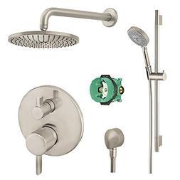 Hansgrohe KSH04447-27474-66BN Raindance Shower Faucet Kit wi