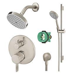 Hansgrohe KSH04447-27486-66BN Raindance Shower Faucet Kit wi