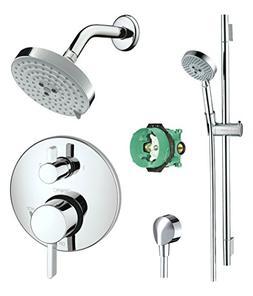 Hansgrohe KSH04447-27495-66PC-2 Raindance Shower Faucet Kit