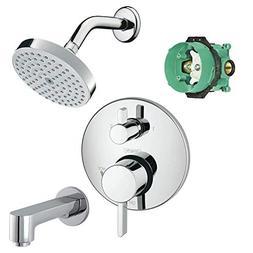 Hansgrohe KST04447-27486-13PC Raindance Shower Faucet Kit wi
