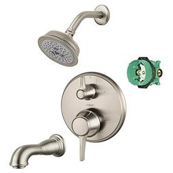 Hansgrohe KST04449-04070-88BN Croma Shower Faucet Kit with T