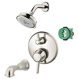Hansgrohe KST04449-04070-88PN-2 Croma Shower Faucet Kit with