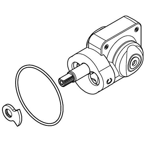 Grohe Cartridge Balance, 3.75 x 2.00 inches
