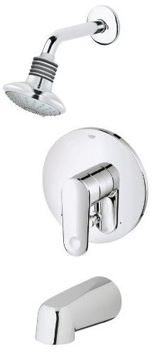 Grohe 35 018 002 Europlus Tub/Shower Combination PBV Trim, S