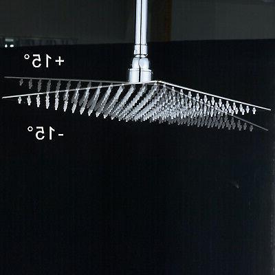 10 Square Head Wall Shower Sprayer