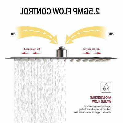 10 Square Shower Wall Sprayer