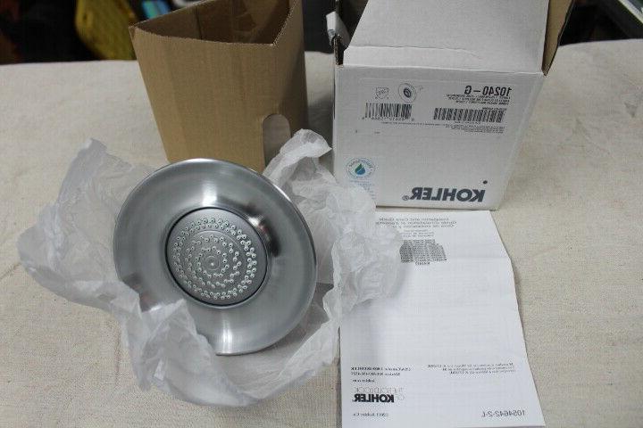 Kohler 10240 Forte Multifunction Brushed Shower Showerhead