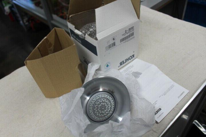Kohler 10240 Forte Brushed Chrome Shower Showerhead