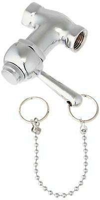 Ez-Flo 10789 Self-Closing Pull Chain Shower Valve Brass Cons