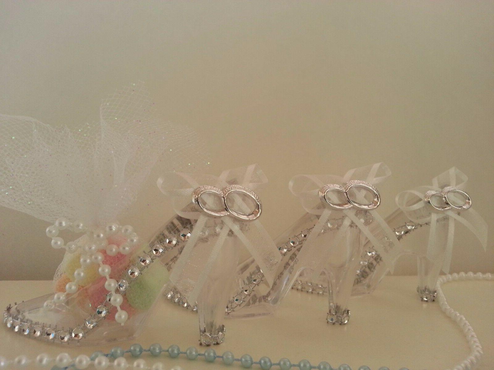 12 fillable cinderella slipper favors bridal shower