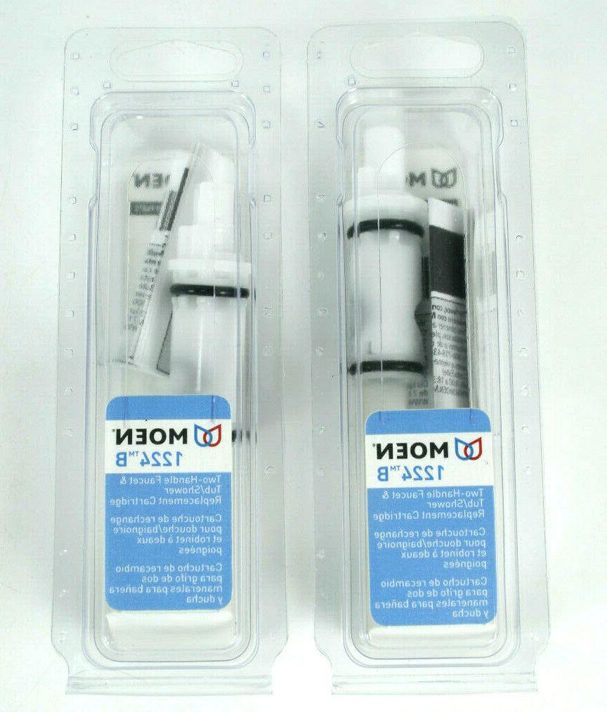 MOEN 1224B/1224 Replacement Cartridge for Two-Handle Faucet,