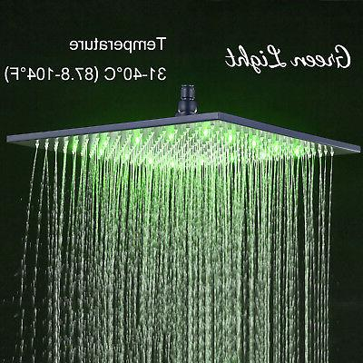 16-inch Shower Head Ceiling/Wall Bronze Sprayer