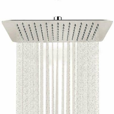 16 inch rain square shower head wall