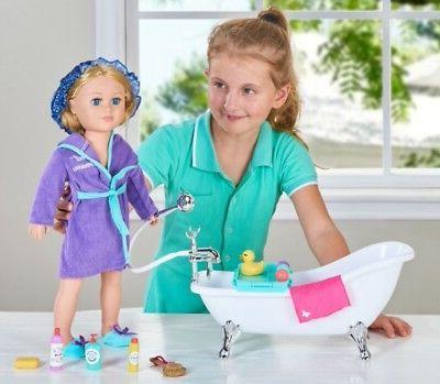 """18"""" Doll BATHROOM SET My as American Boy Lot"""