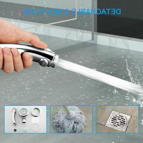 3 In1 High Showerhead Boosting Handheld Pause Shower Mode