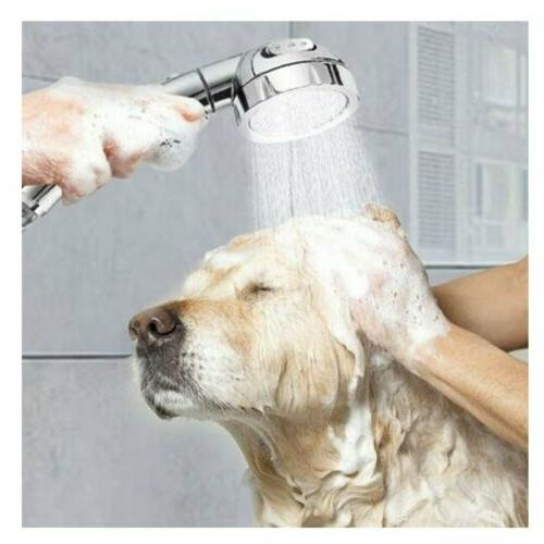 3 In1 High Showerhead Handheld Pause Mode