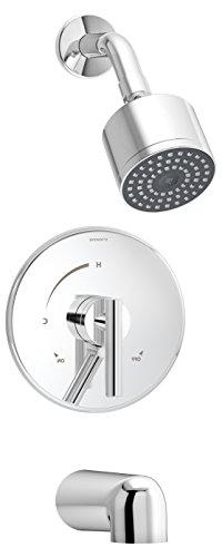 Symmons S-3502-CYL-B-TRM Dia Tub/Shower Trim, Chrome