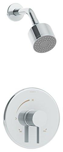 Symmons 3521-B Dia Single-Handle 1-Spray Shower Faucet With