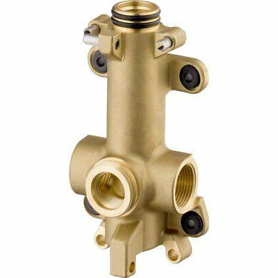 40877180 starck shower shelf brass